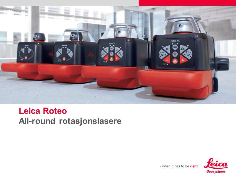 Leica Roteo All-round rotasjonslasere