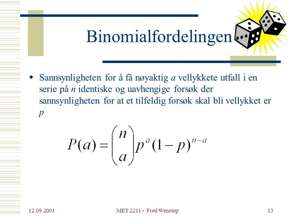 Binomialfordelingen