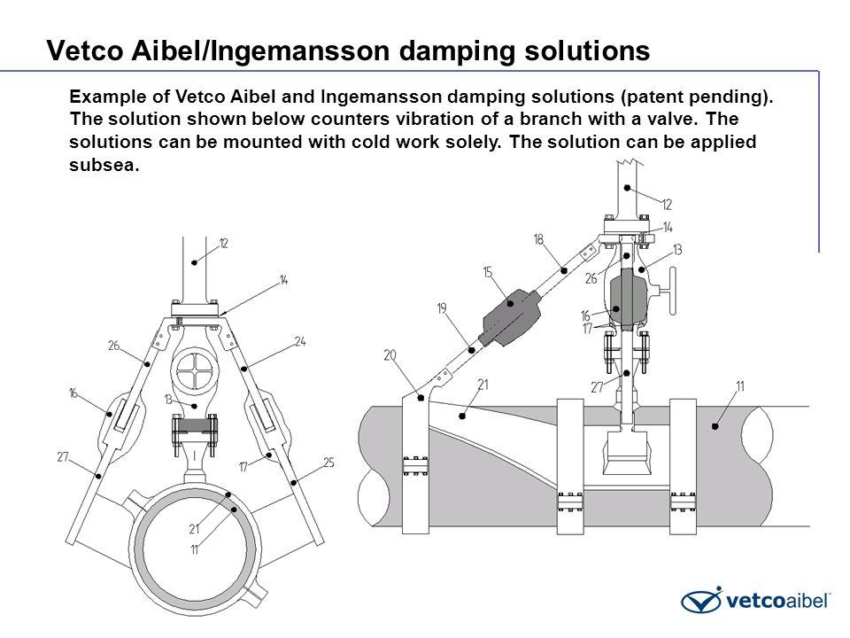 Vetco Aibel/Ingemansson damping solutions