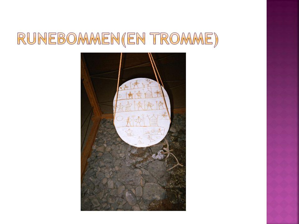 Runebommen(en tromme)