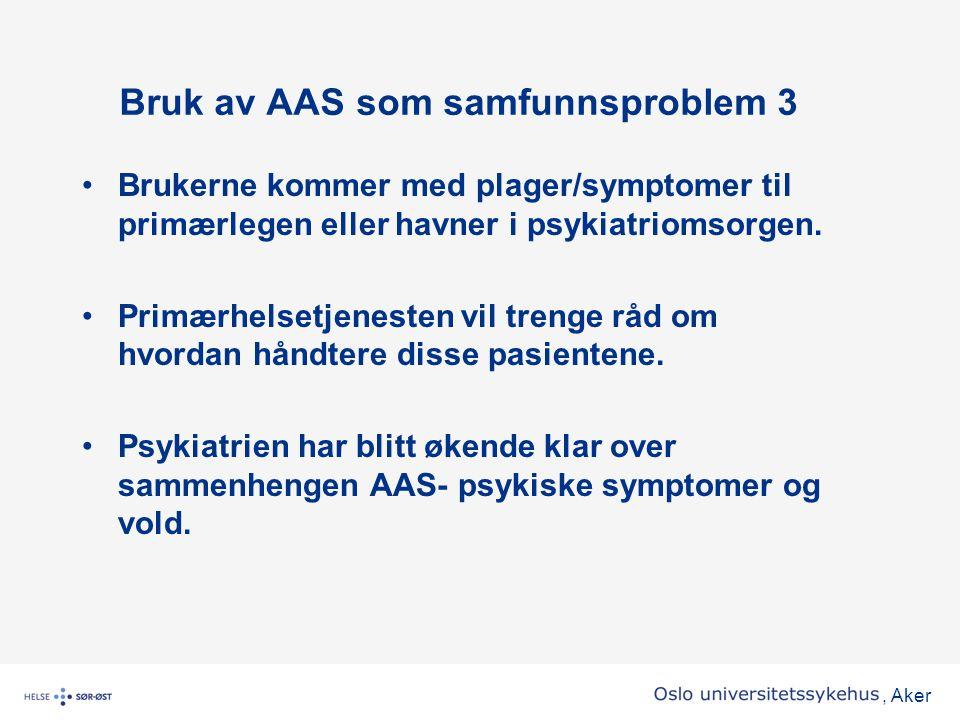Bruk av AAS som samfunnsproblem 3