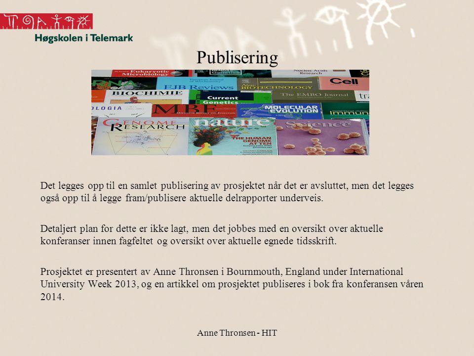 Publisering