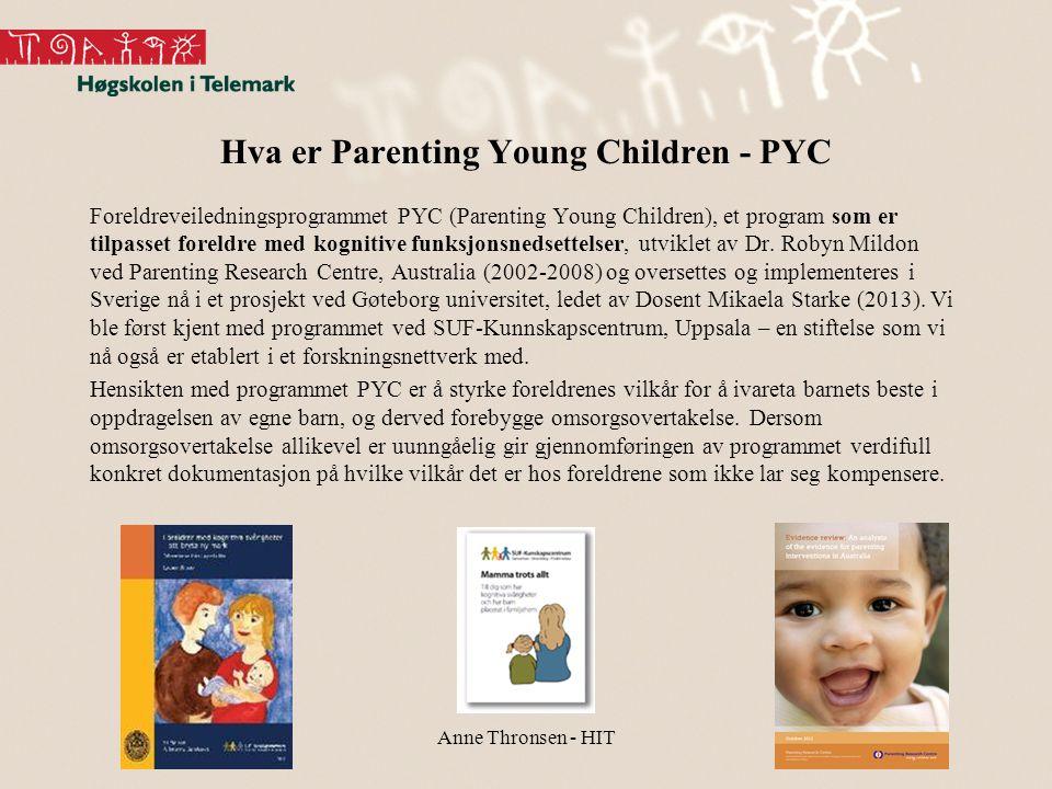 Hva er Parenting Young Children - PYC