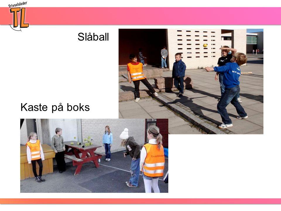 Slåball Kaste på boks