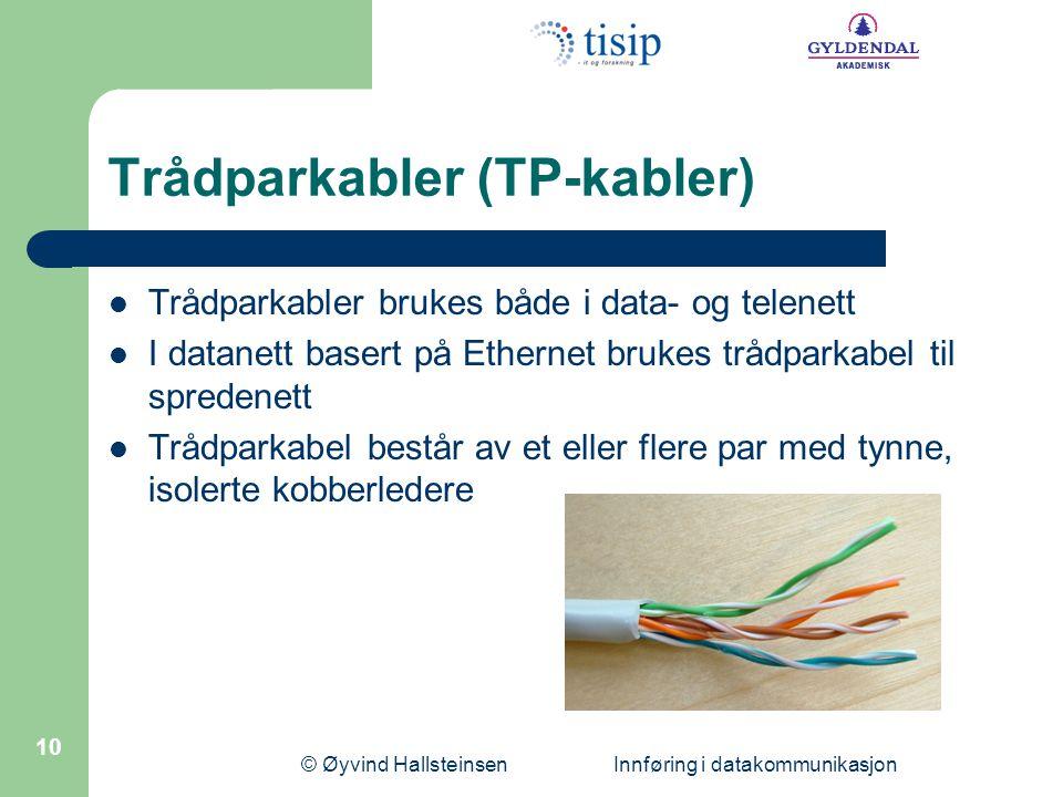 Trådparkabler (TP-kabler)