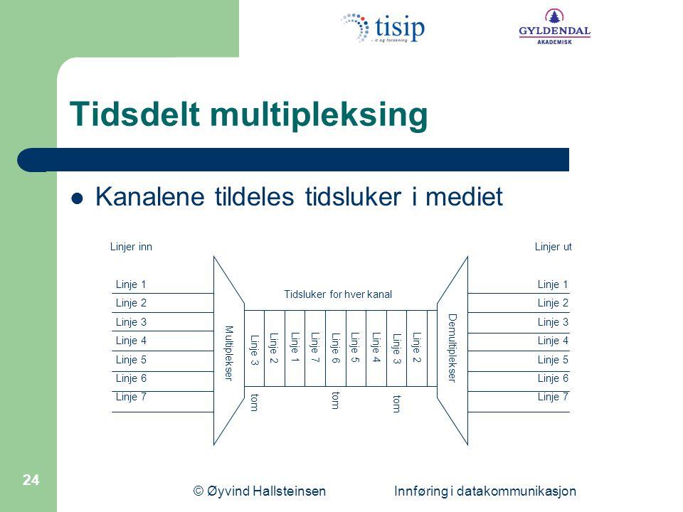 Tidsdelt multipleksing