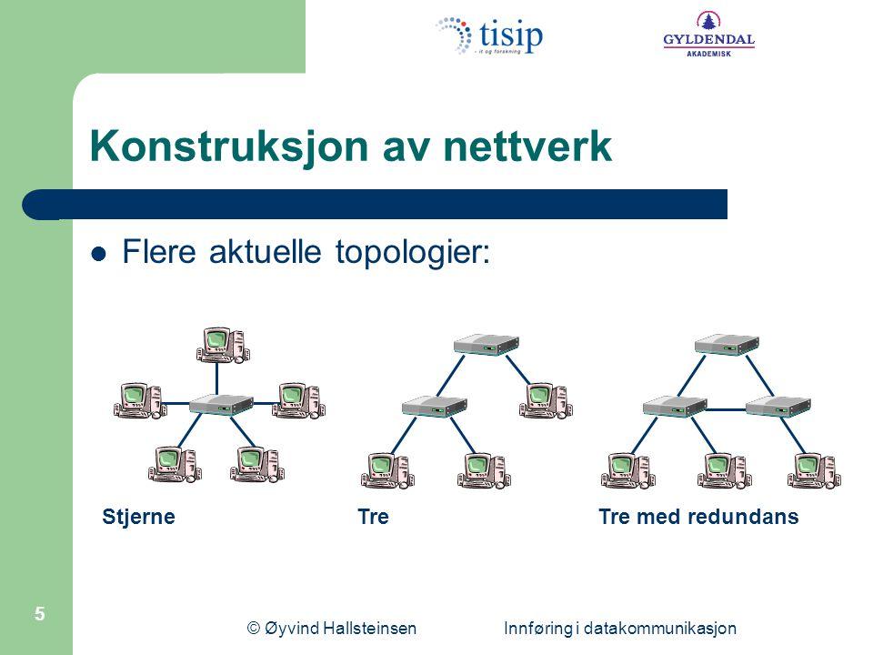 Konstruksjon av nettverk