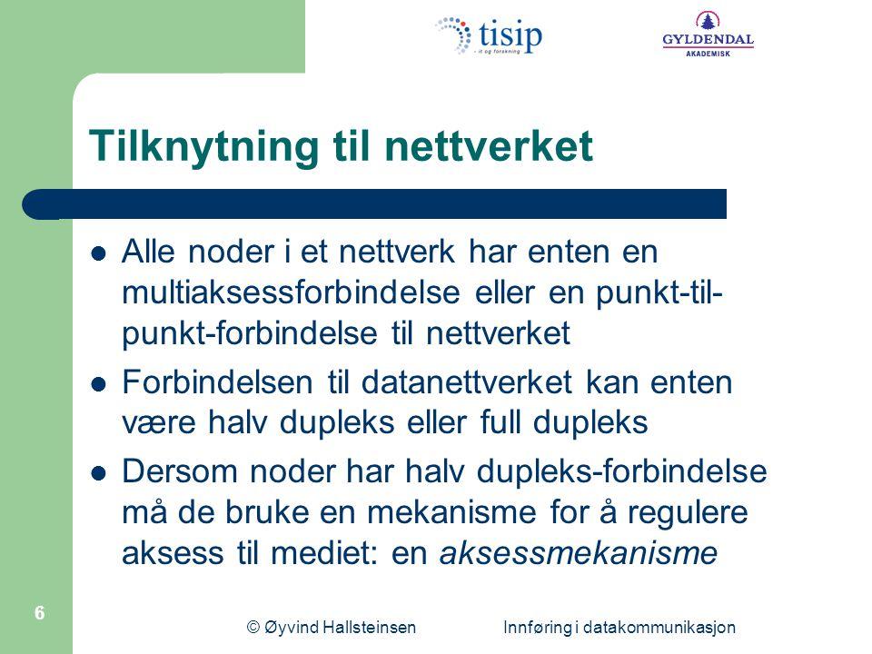 Tilknytning til nettverket
