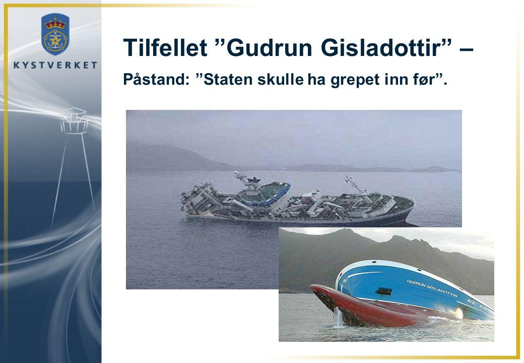 Tilfellet Gudrun Gisladottir – Påstand: Staten skulle ha grepet inn før .
