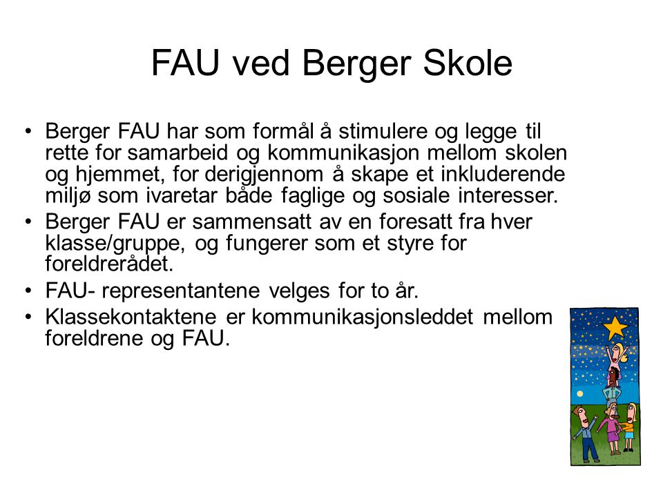 FAU ved Berger Skole