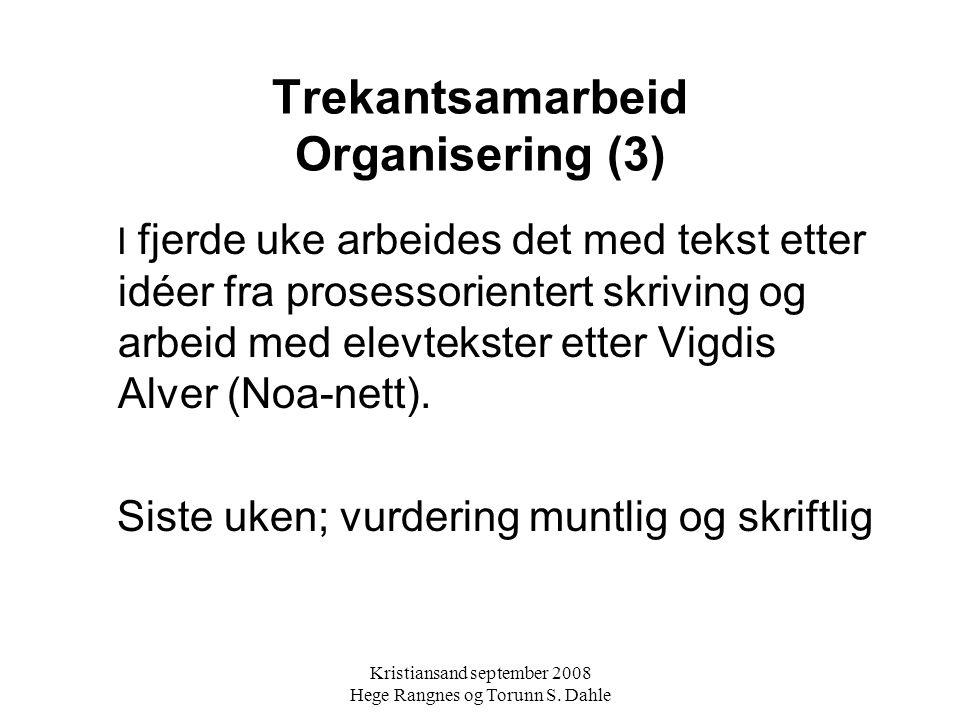 Trekantsamarbeid Organisering (3)