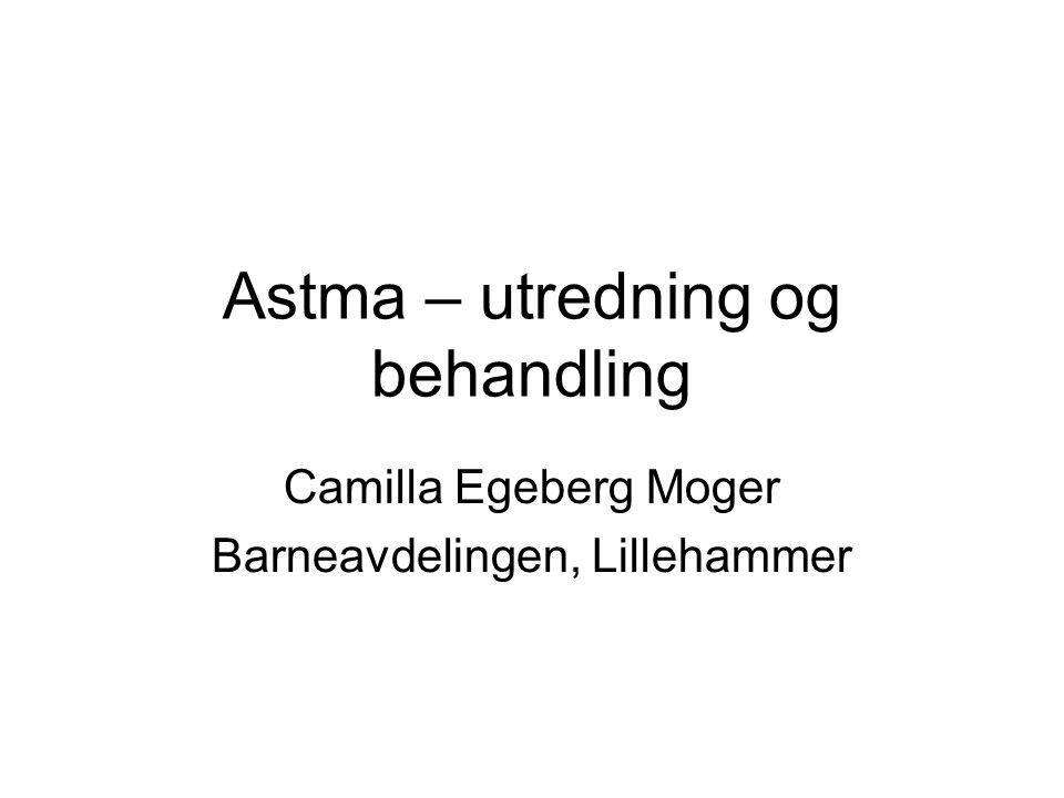 Astma – utredning og behandling