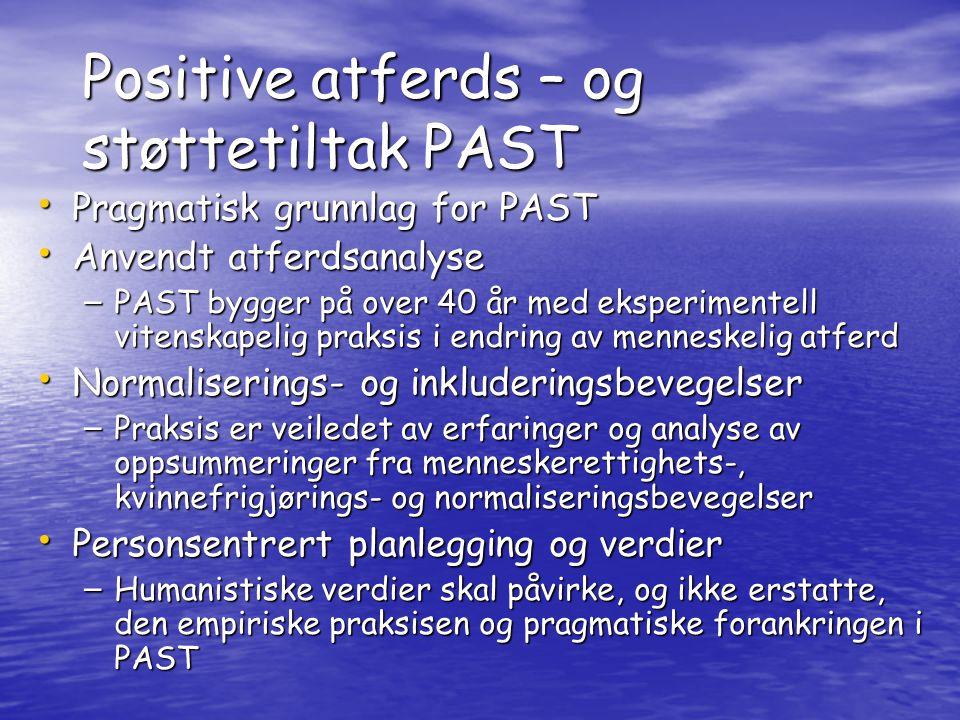 Positive atferds – og støttetiltak PAST