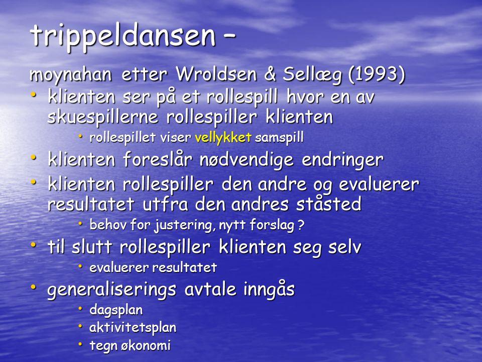 trippeldansen – moynahan etter Wroldsen & Sellæg (1993)