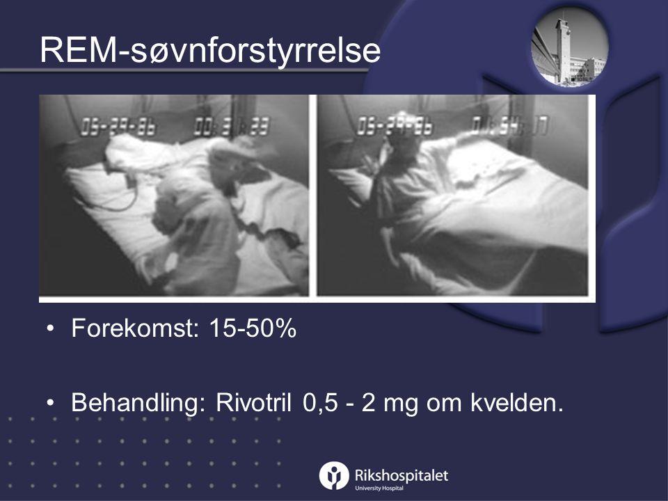 REM-søvnforstyrrelse