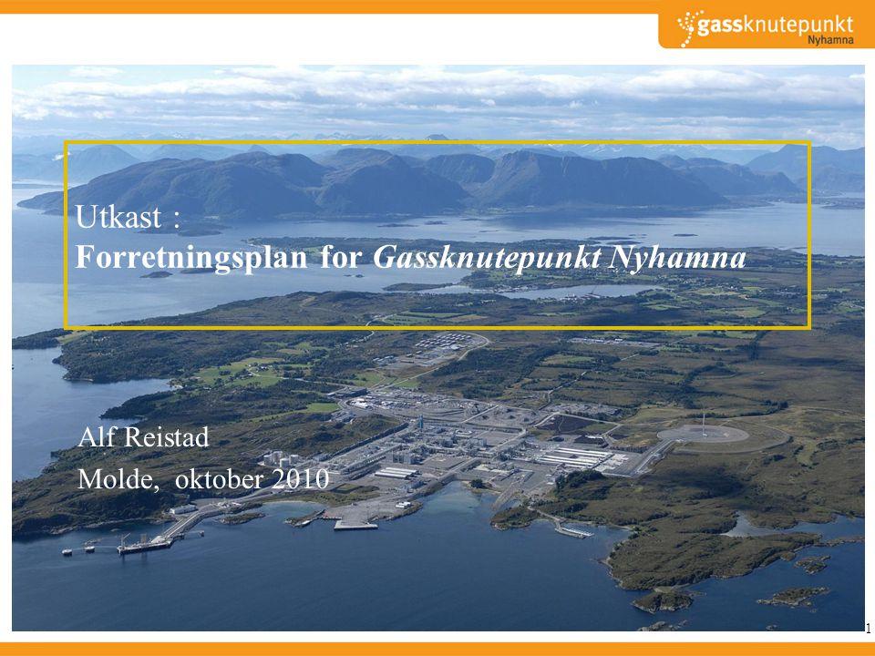 Utkast : Forretningsplan for Gassknutepunkt Nyhamna