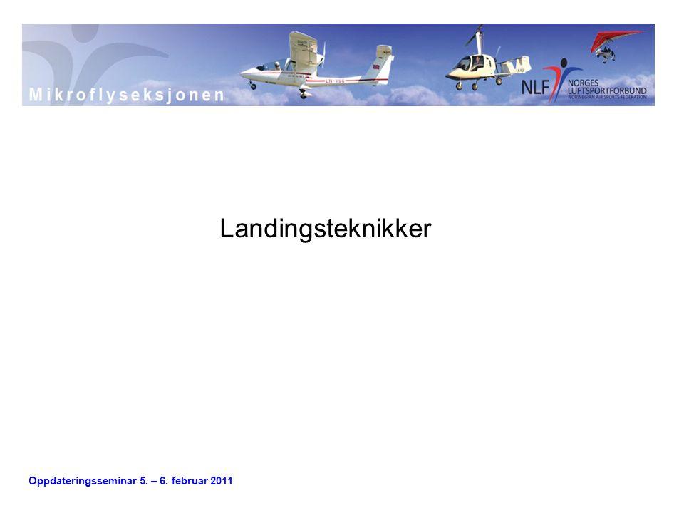 Landingsteknikker