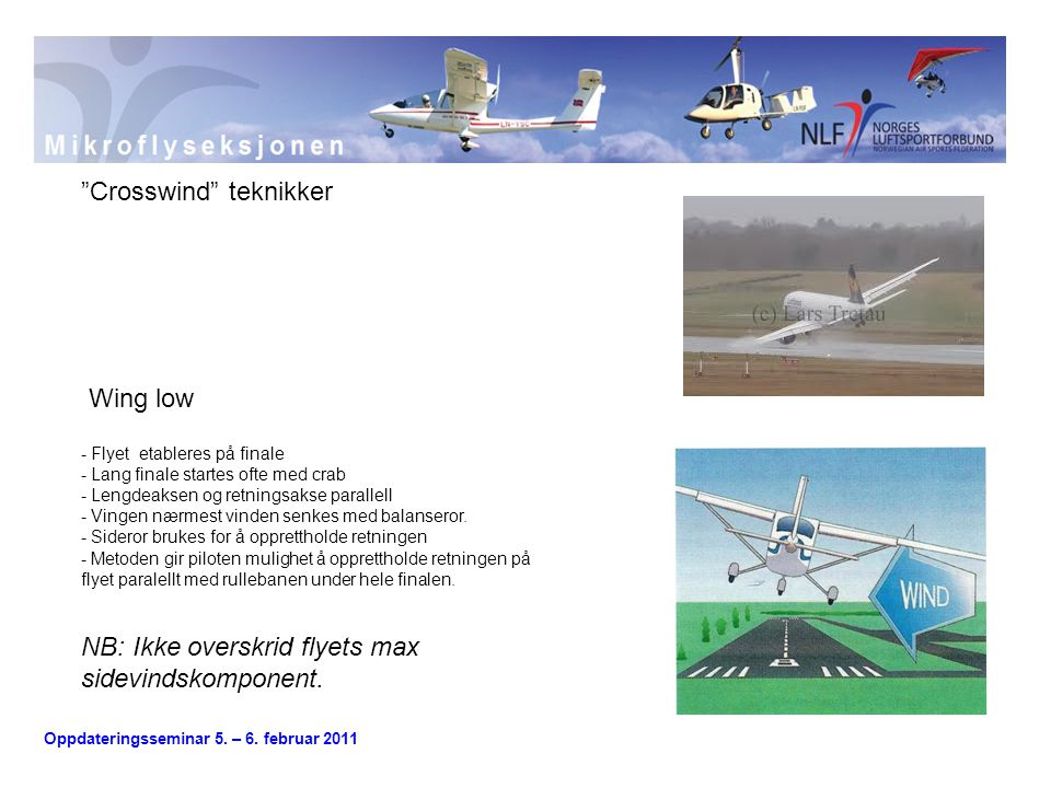 Crosswind teknikker
