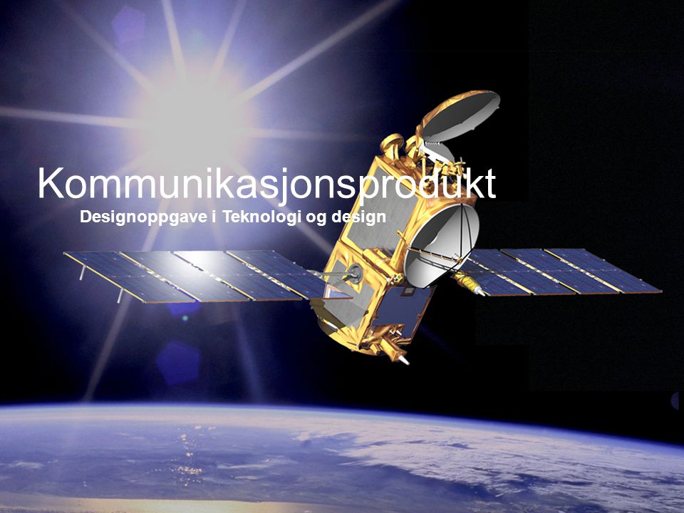 ELEKTRONISKE KOMMUNIKASJONSSYSTEMER