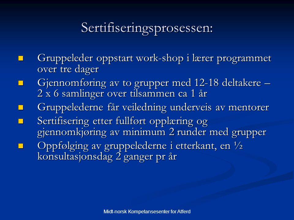 Sertifiseringsprosessen: