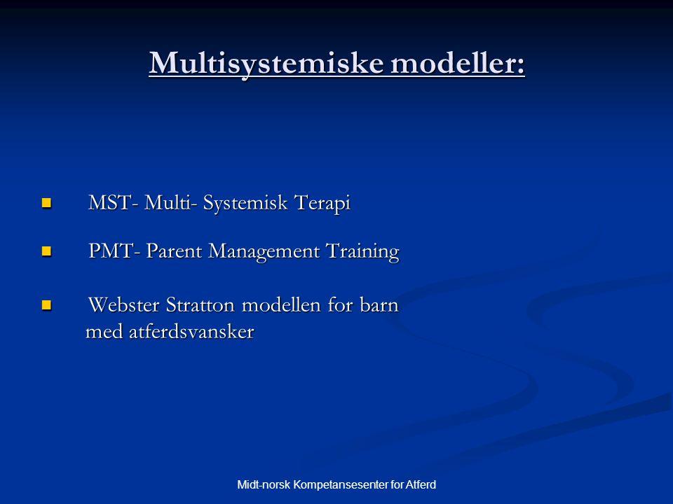 Multisystemiske modeller: