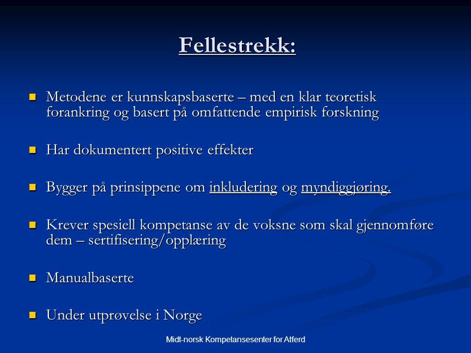 Midt-norsk Kompetansesenter for Atferd