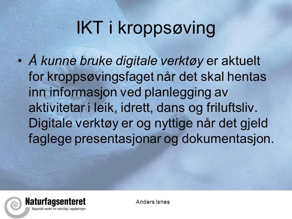 IKT i kroppsøving