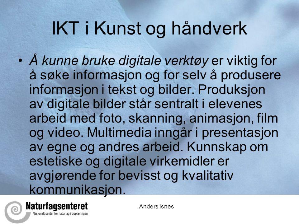 IKT i Kunst og håndverk
