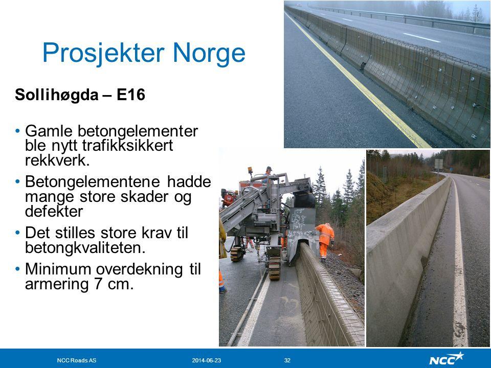 Prosjekter Norge Sollihøgda – E16