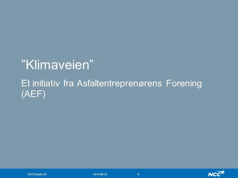 Klimaveien Et initiativ fra Asfaltentreprenørens Forening (AEF)