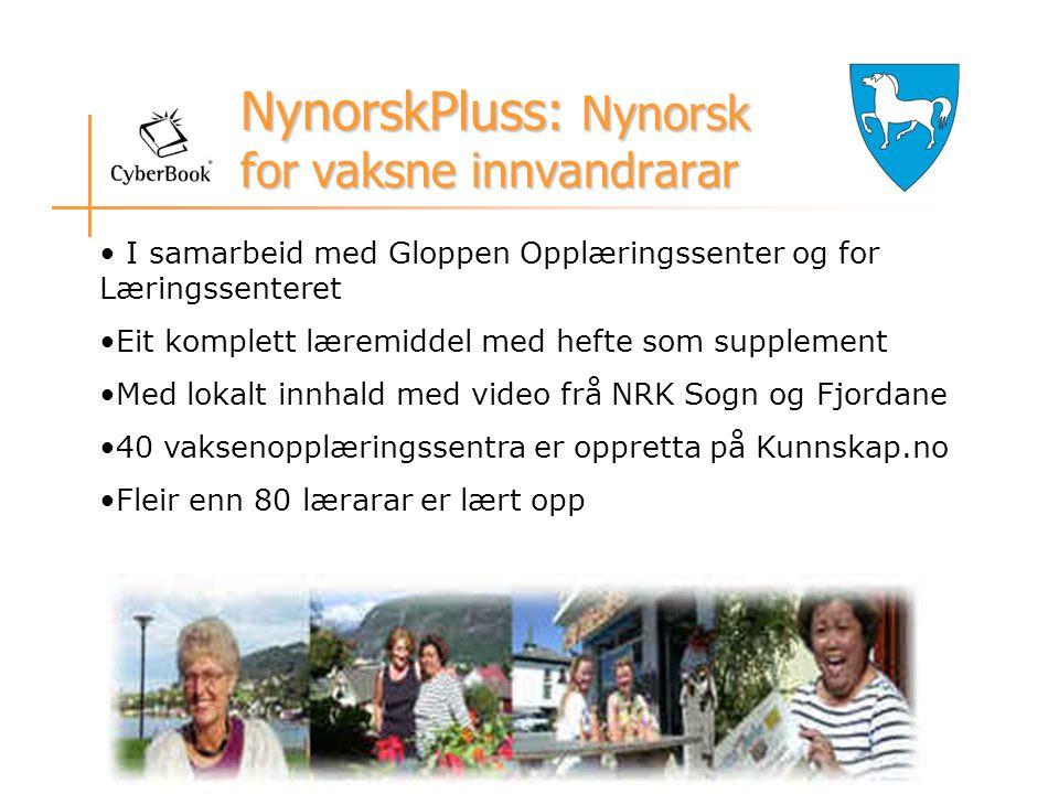 NynorskPluss: Nynorsk for vaksne innvandrarar