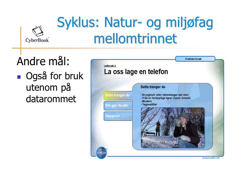 Syklus: Natur- og miljøfag mellomtrinnet