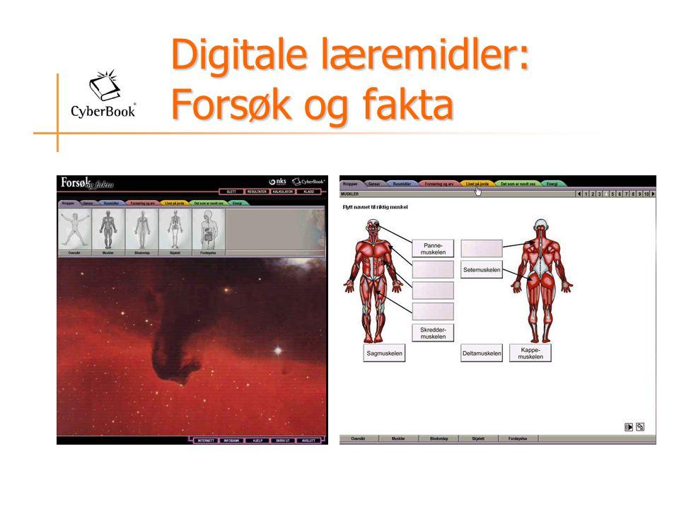 Digitale læremidler: Forsøk og fakta