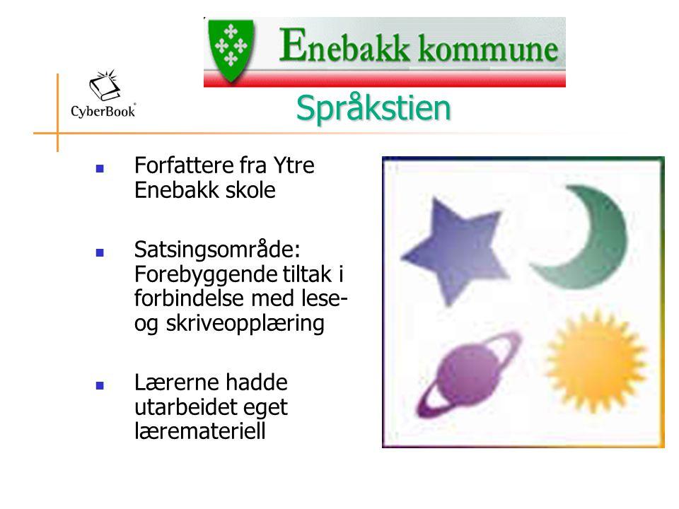 Språkstien Forfattere fra Ytre Enebakk skole