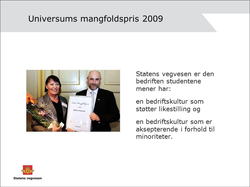Universums mangfoldspris 2009