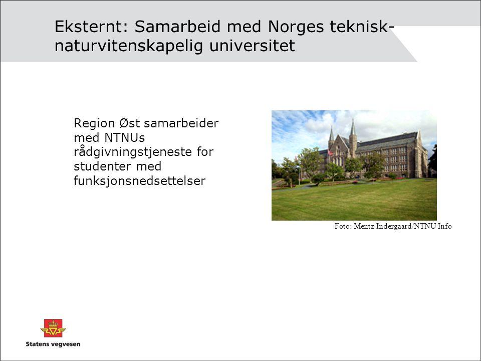 Eksternt: Samarbeid med Norges teknisk- naturvitenskapelig universitet