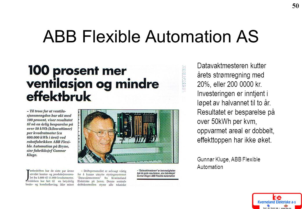 ABB Flexible Automation AS