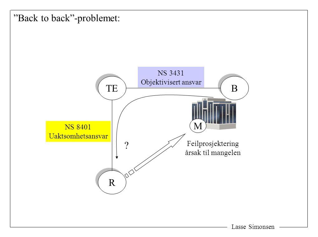 Back to back -problemet: