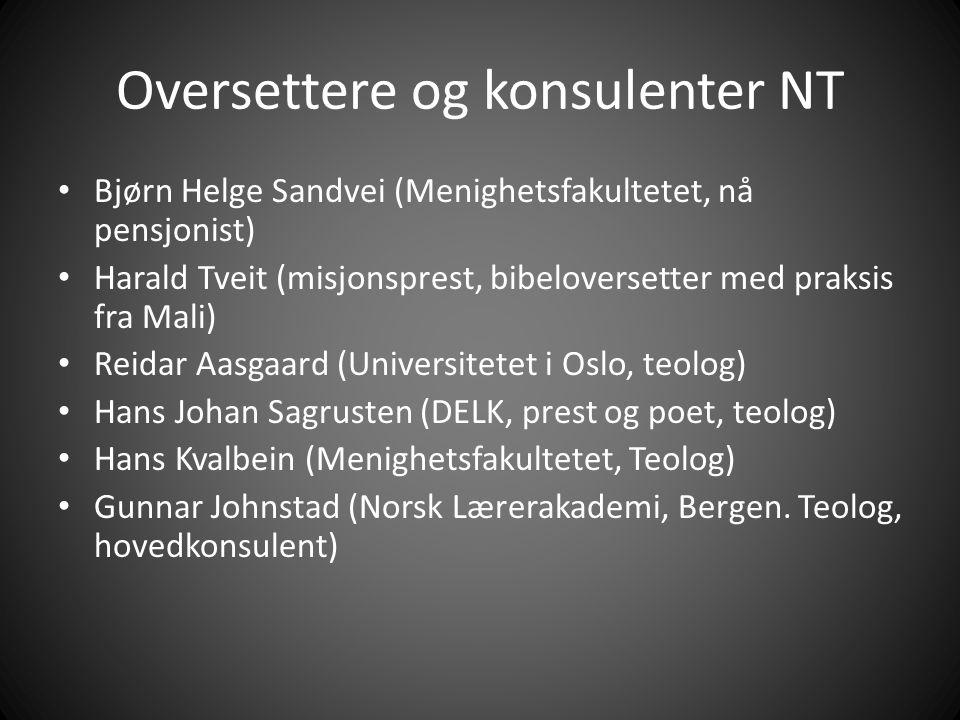 Oversettere og konsulenter NT