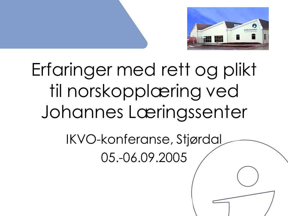 IKVO-konferanse, Stjørdal 05.-06.09.2005
