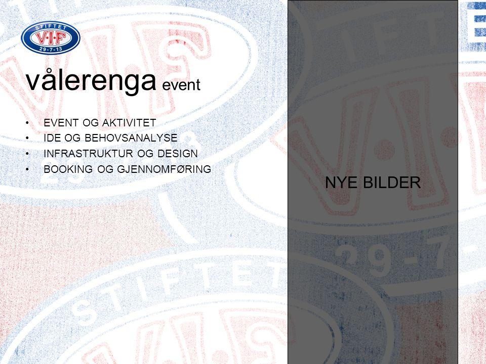 vålerenga event NYE BILDER EVENT OG AKTIVITET IDE OG BEHOVSANALYSE