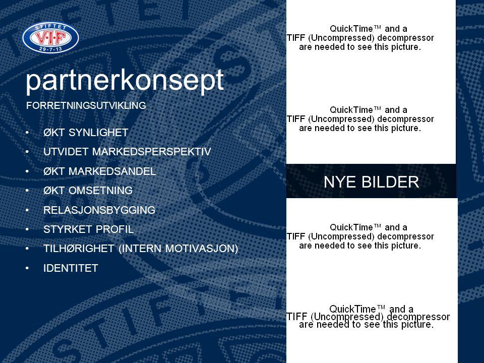 partnerkonsept NYE BILDER ØKT SYNLIGHET UTVIDET MARKEDSPERSPEKTIV