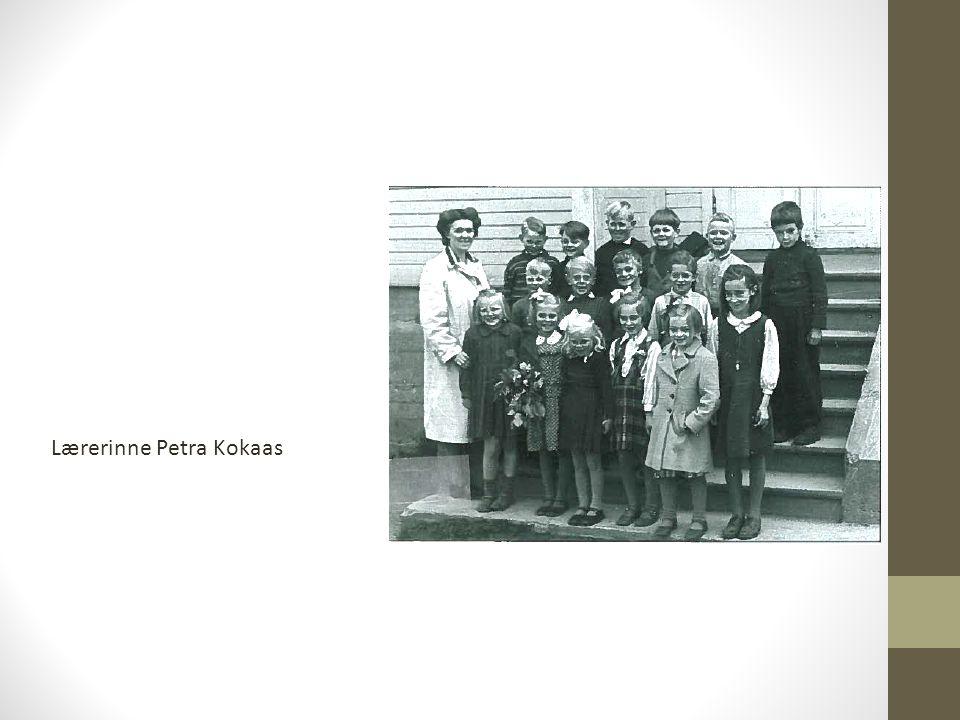 Lærerinne Petra Kokaas
