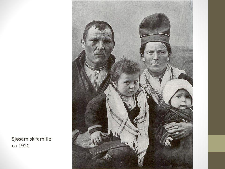 Sjøsamisk familie ca 1920