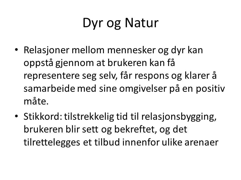 Dyr og Natur