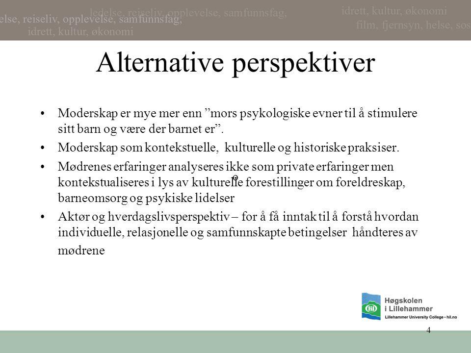 Alternative perspektiver
