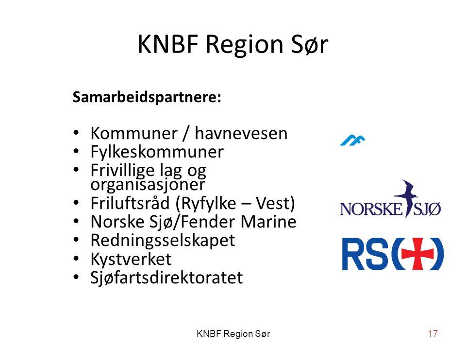 KNBF Region Sør Kommuner / havnevesen Fylkeskommuner