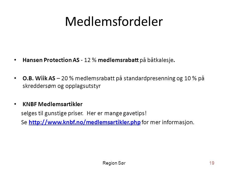Medlemsfordeler Hansen Protection AS - 12 % medlemsrabatt på båtkalesje.