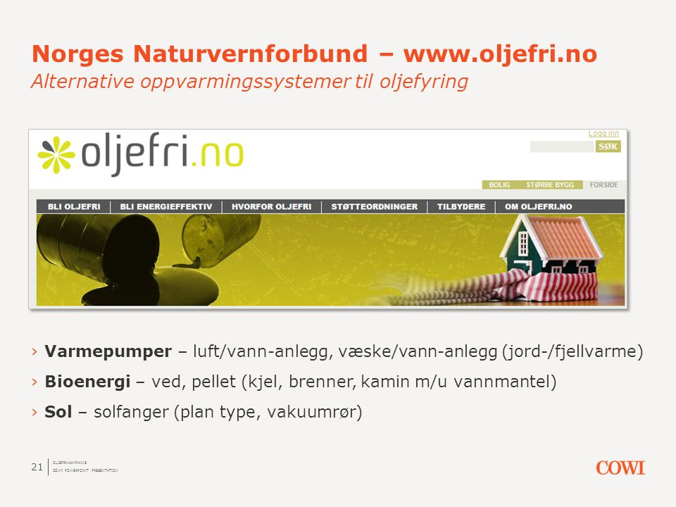 Norges Naturvernforbund – www. oljefri