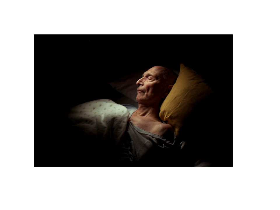 Karsten ( Grønseth 1936-2012) sover. Foto: Marie Sjøvold ( f 1982)